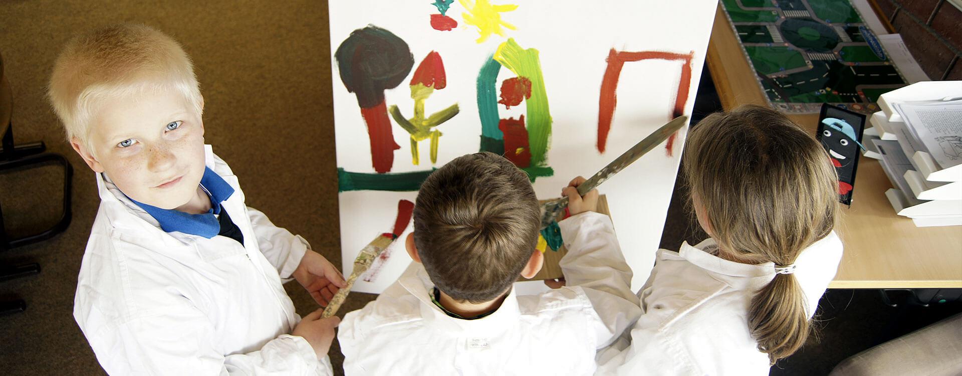 Markgrafenschule Altensteig Malen