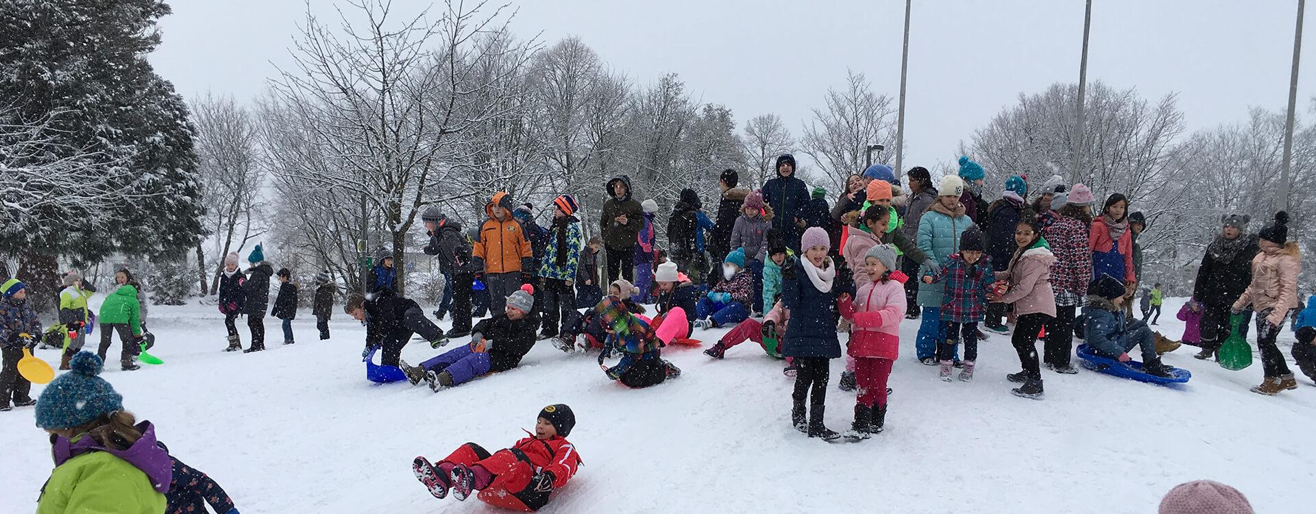Markgrafenschule Altensteig Winter